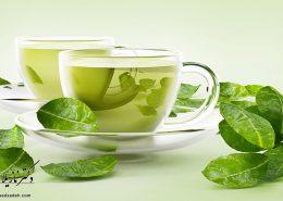 داشتن پوست بهتر با نوشیدن چای سبز