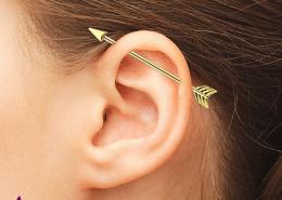 سوراخ کردن لاله گوش